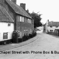 Chapel St with Phone box & Bus Shelter 1965.jpg