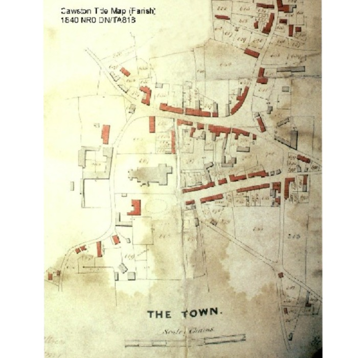 Cawston: Old Maps