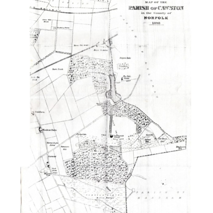 Map of Cawston 1898.pdf